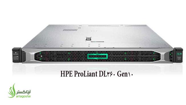 آشنایی با سرور HPE ProLiant DL360 Gen10