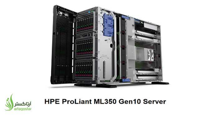 آشنایی با سرور HPE Proliant  ML350 Gen10