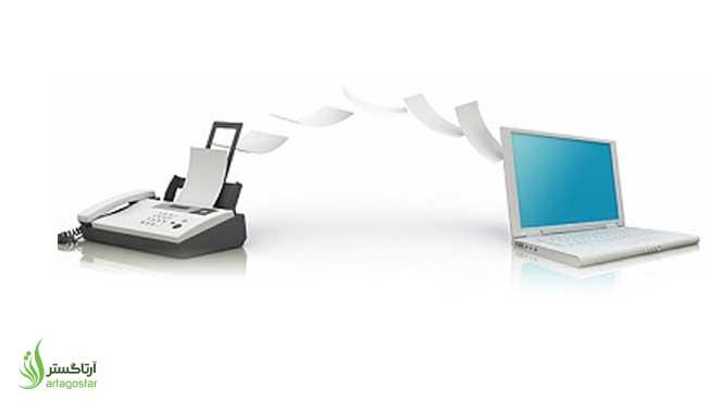 آموزش دریافت فکس از طریق کامپیوتر با پرینتر HP M130 fw