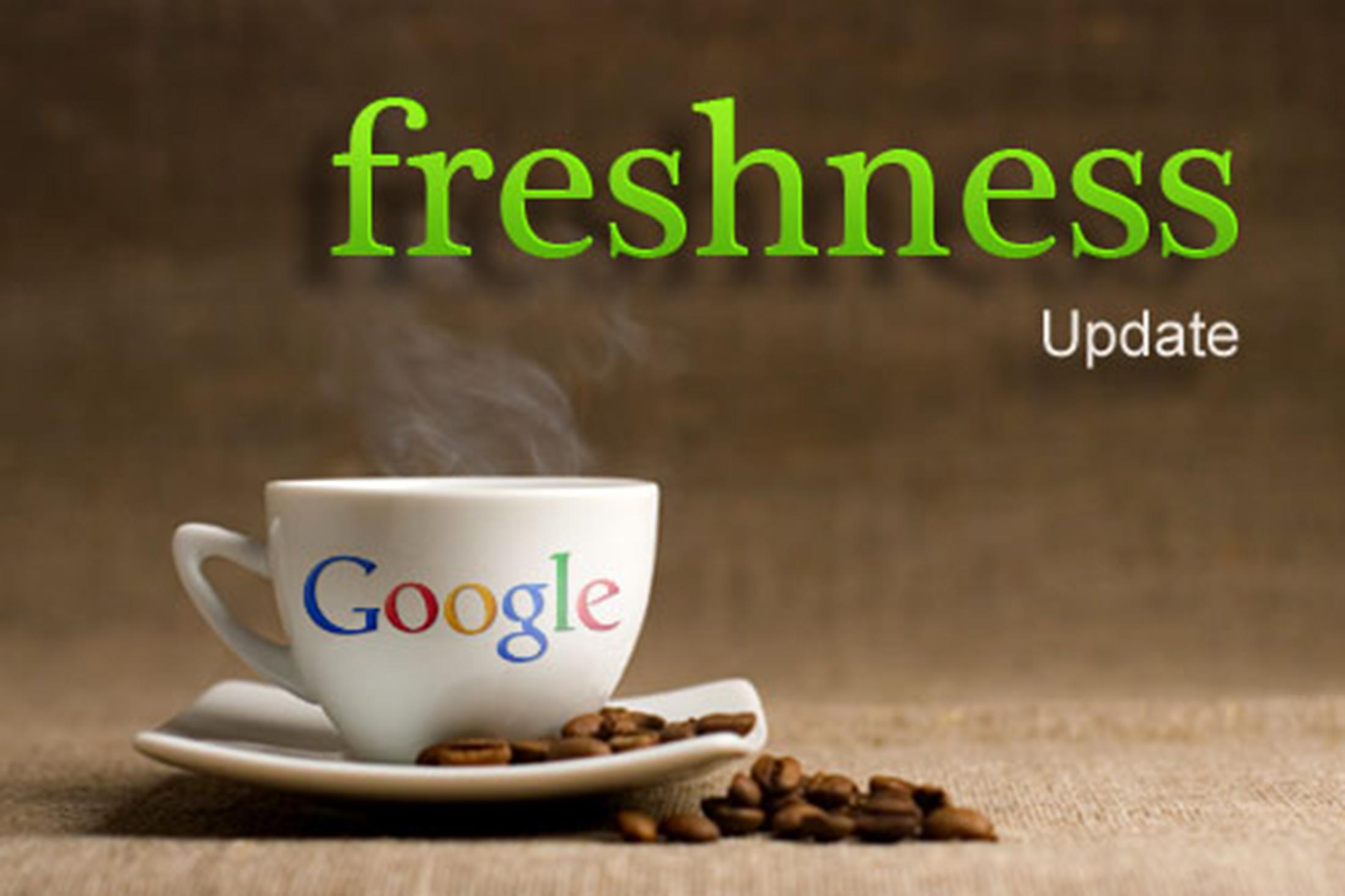 الگوریتم Freshness گوگل